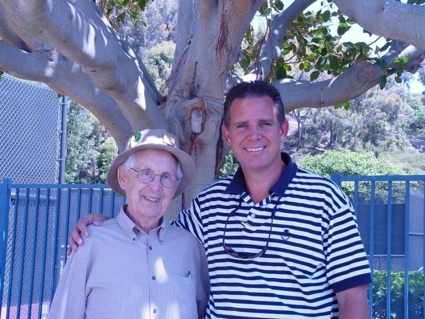Mark with Grandpa